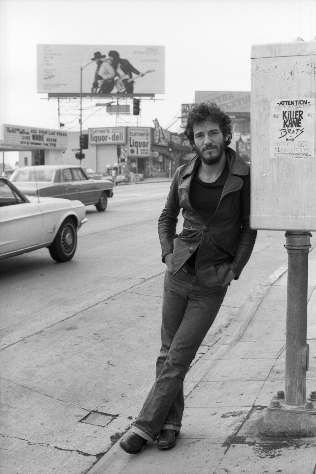 Bruce Springsteen, Los Angeles, CA, 1975