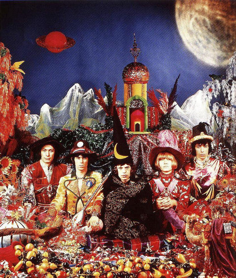 "The Rolling Stones ""Satanic Majesties Request"" Album Cover-1967"