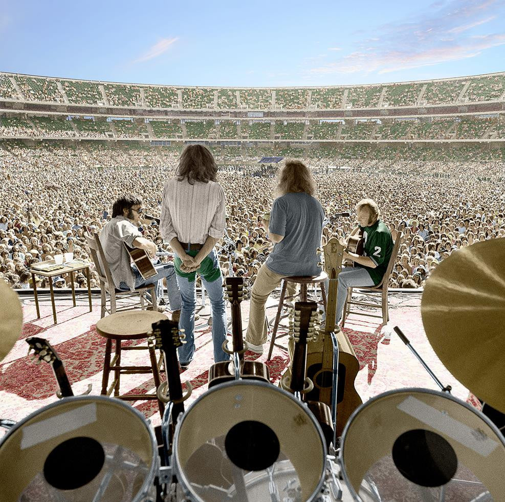 Crosby, Stills, Nash & Young, Oakland Coliseum, CA, 1974
