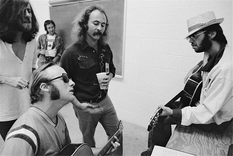 Crosby, Stills, Nash & Young, Buffalo, NY, 1974