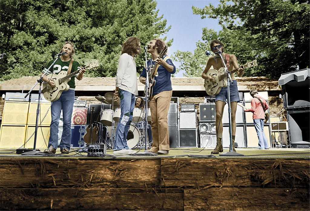 Crosby, Stills, Nash & Young, Woodside, CA, 1974