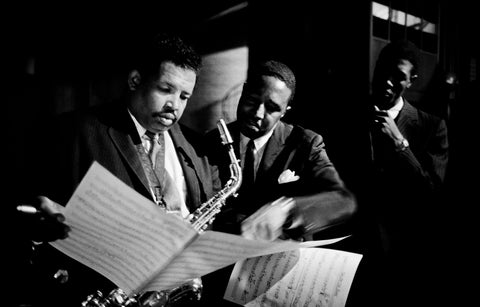 Cannonball Adderley and Ray Brown