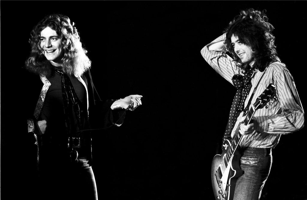 Robert Plant and Jimmy Page, Led Zeppelin