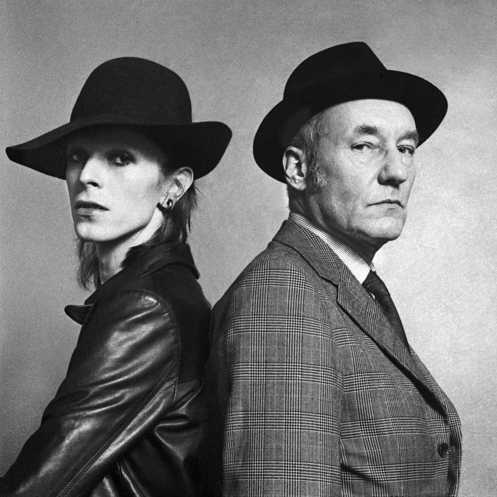 David Bowie & William Burroughs, Los Angeles, CA, 1976