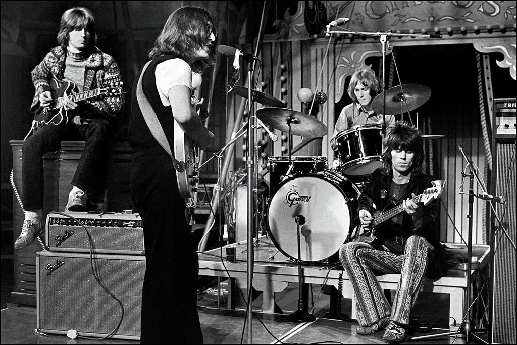 The Dirty Mac, Eric Clapton, John Lennon, Mitch Mitchell and Keith Richards, London, 1969