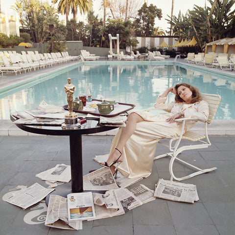 Co-signed by Faye Dunaway and Terry O'neill.