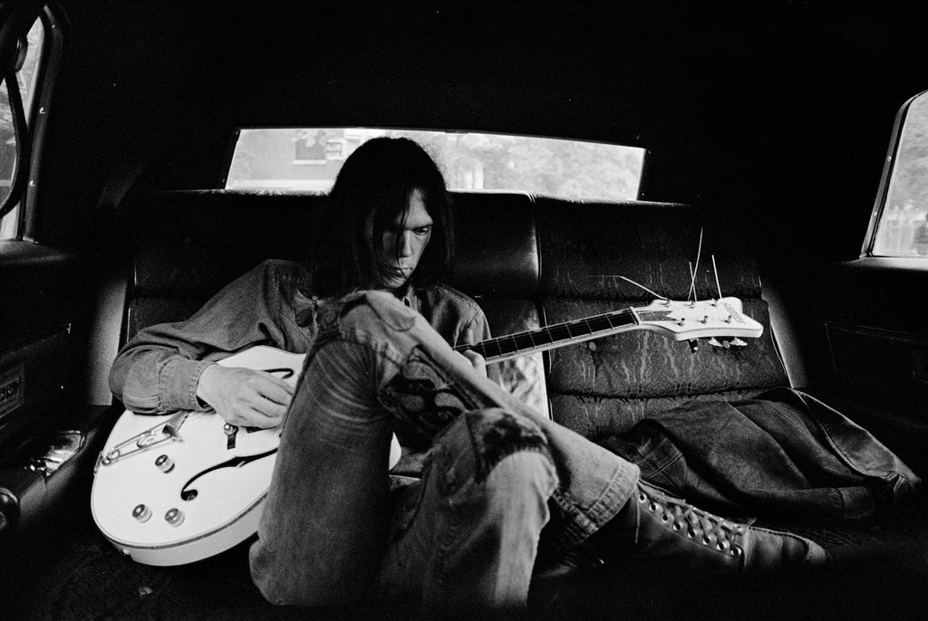Neil Young, New York City, 1970