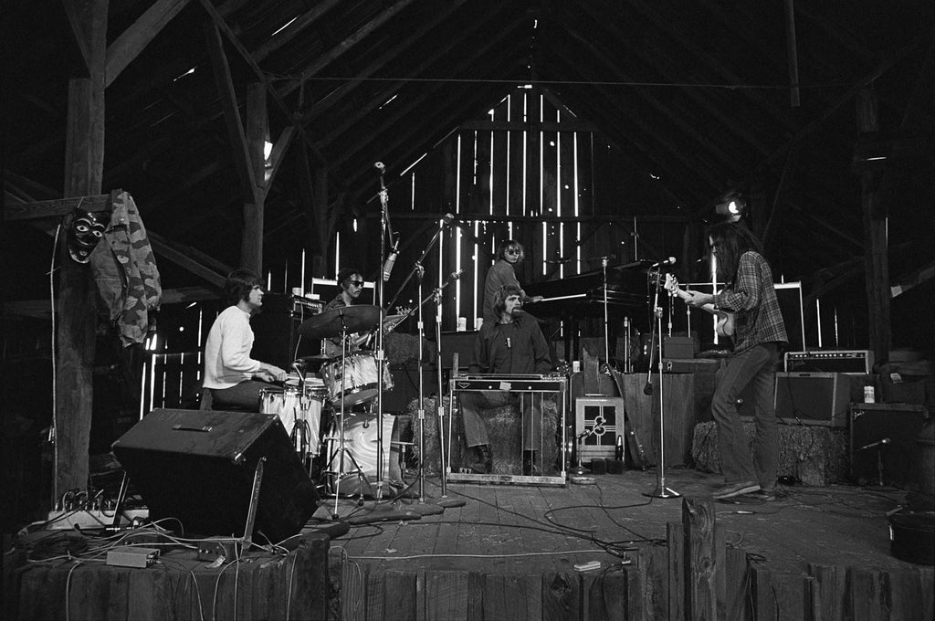 Neil Young & The Stray Gators, Woodside, CA 1971