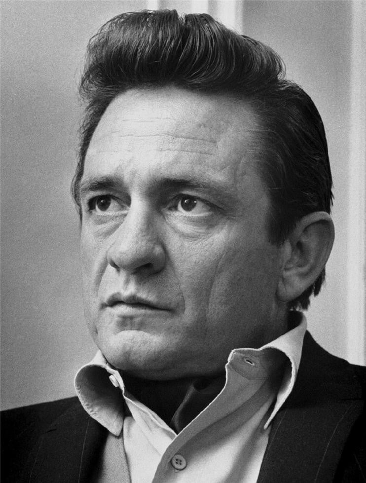 Johnny Cash, England