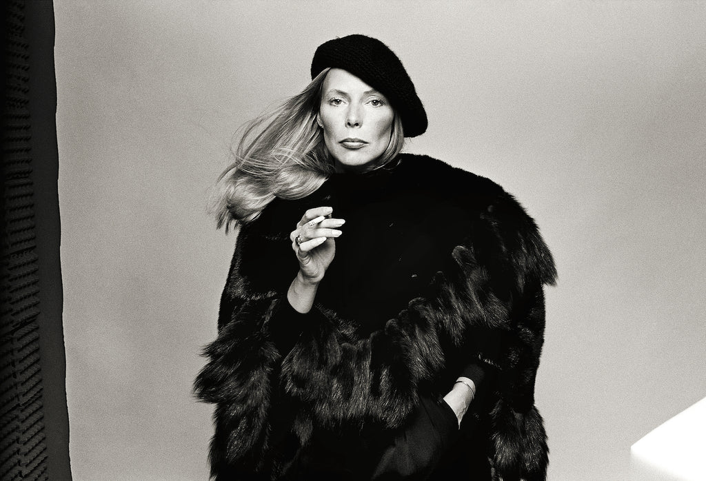 "Joni Mitchell, Los Angeles, CA, 1975, ""Hejira"" album cover"