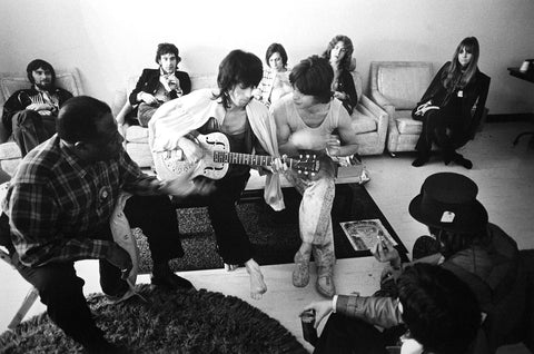 The Rolling Stones with Bukka White
