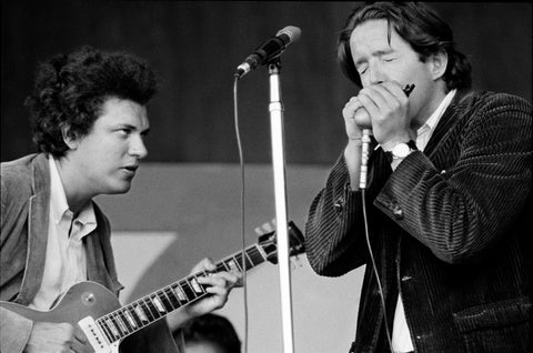 Michael Bloomfield and Paul Butterfield