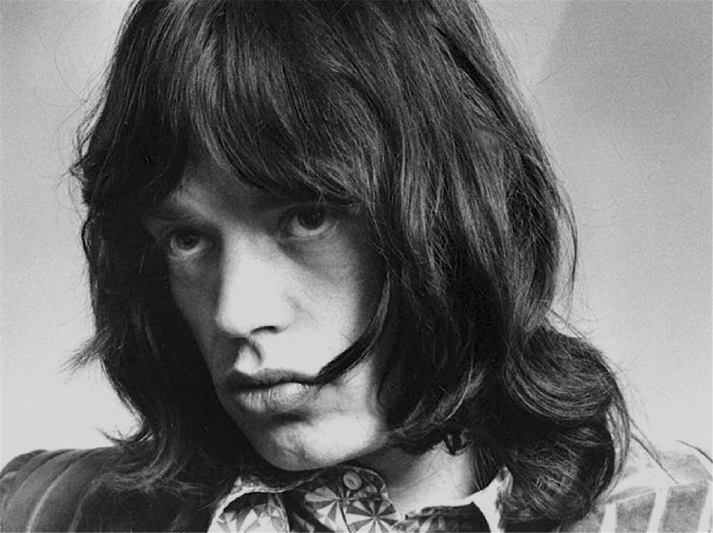 Mick Jagger, Stones Office, Mayfair, London, 1968