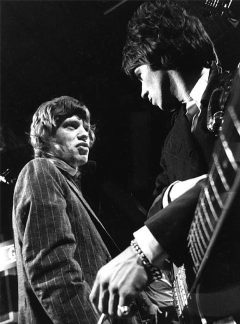 "Mick Jagger & Keith Richards, ""Ready, Steady, Go"", London, 1966"