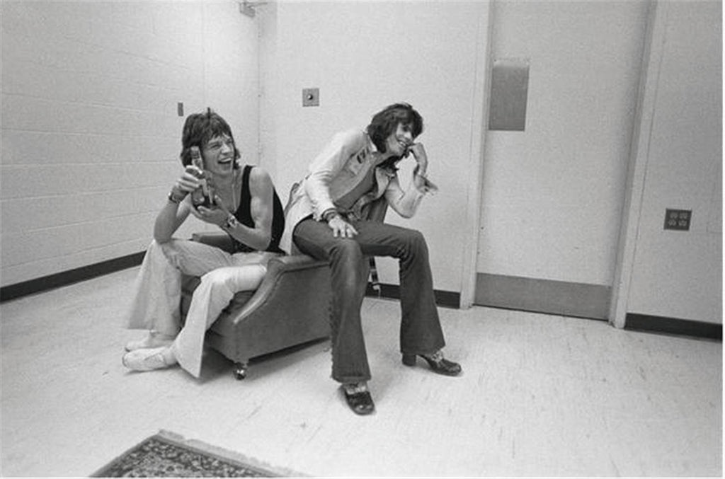Mick Jagger & Keith Richards, The Rolling Stones, Madison Square Garden, 1972