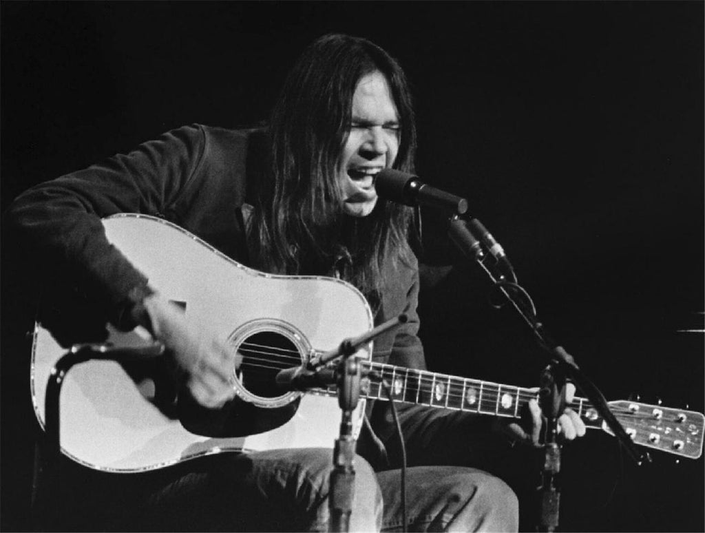 Neil Young, Festival Hall, London, 1971