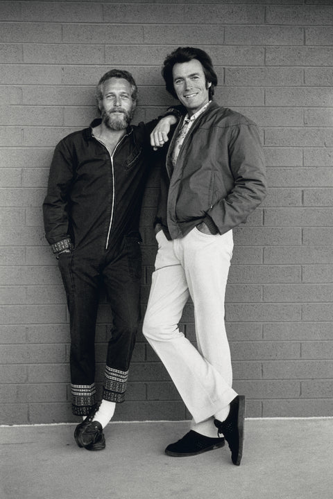 Paul Newman & Clint Eastwood, Tucson, AZ, 1972