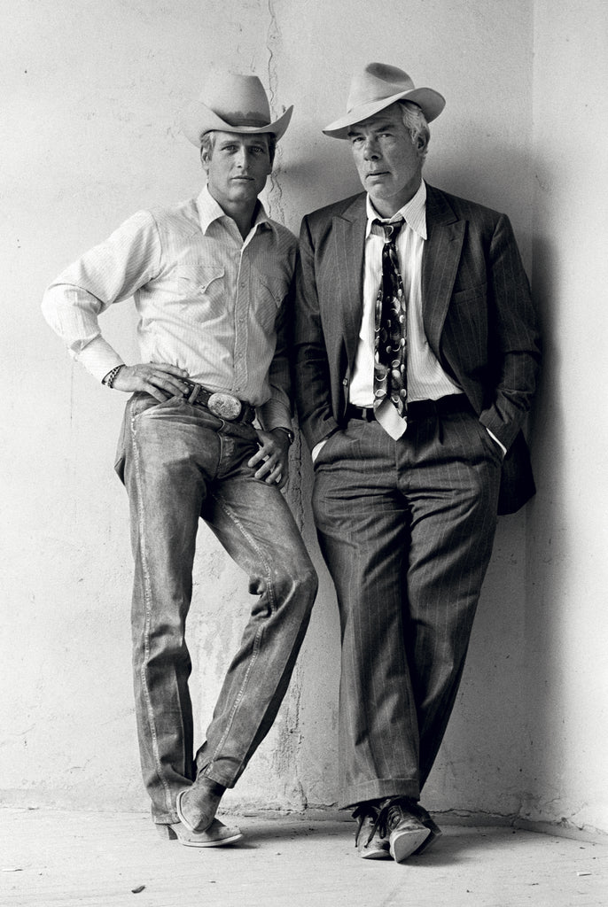 Paul Newman & Lee Marvin, Tucson, AZ, 1972