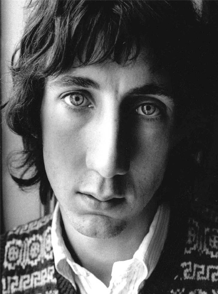 Pete Townshend, London, 1968