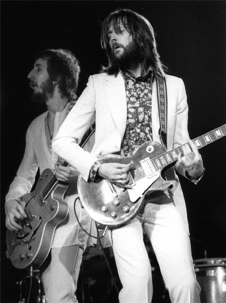 Pete Townshend & Eric Clapton, Rainbow Theatre, London, 1973