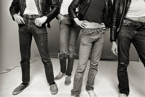 "The Ramones, Los Angeles, 1977, ""Jeans and Keds"""