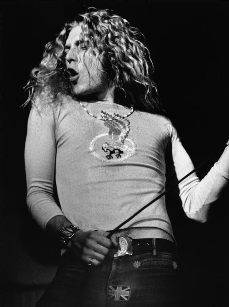 Robert Plant, Wembley Arena, North London, 1972