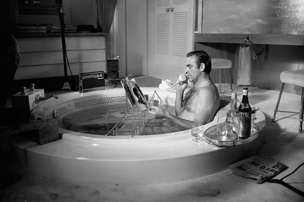 Sean Connery, Las Vegas, NV, 1971