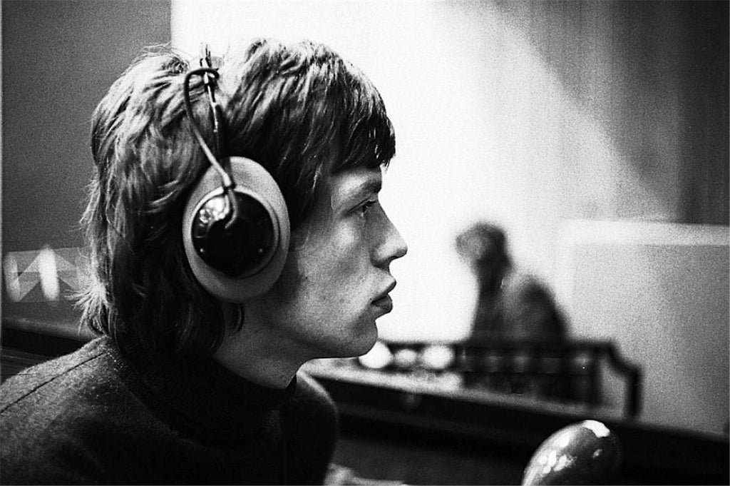 Mick Jagger at Olympic Studios