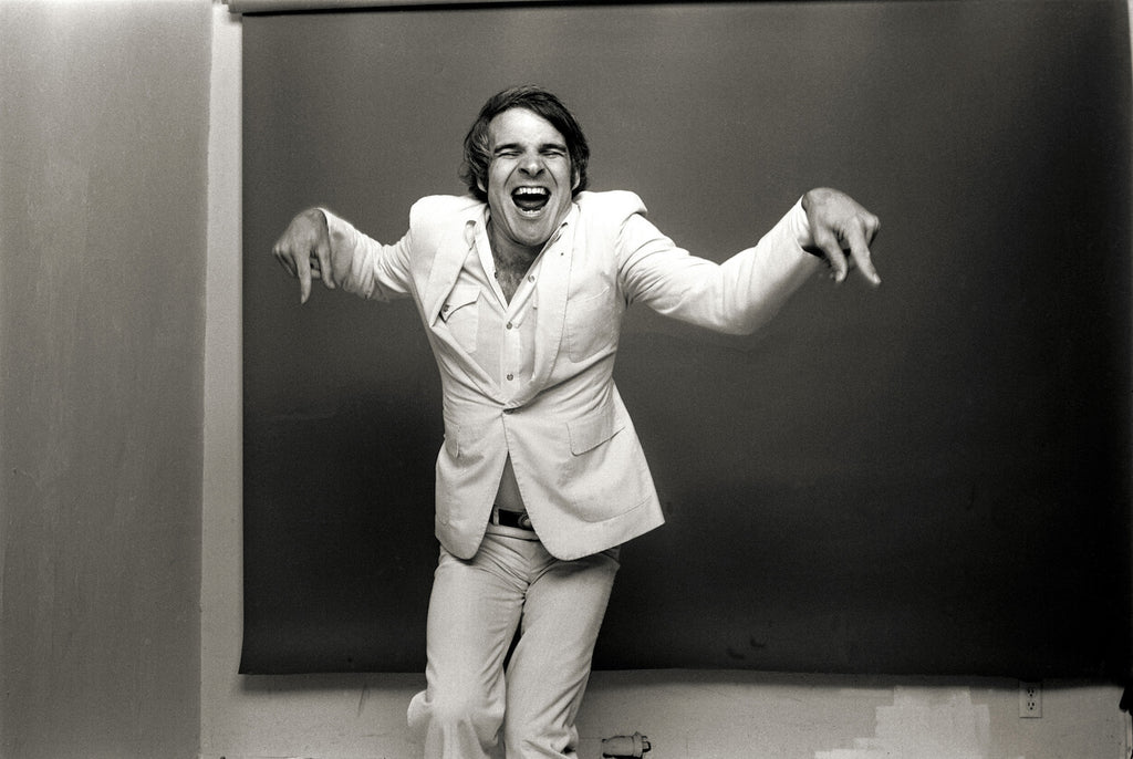 "Steve Martin, Los Angeles, CA, 1974, ""In The Zone"""