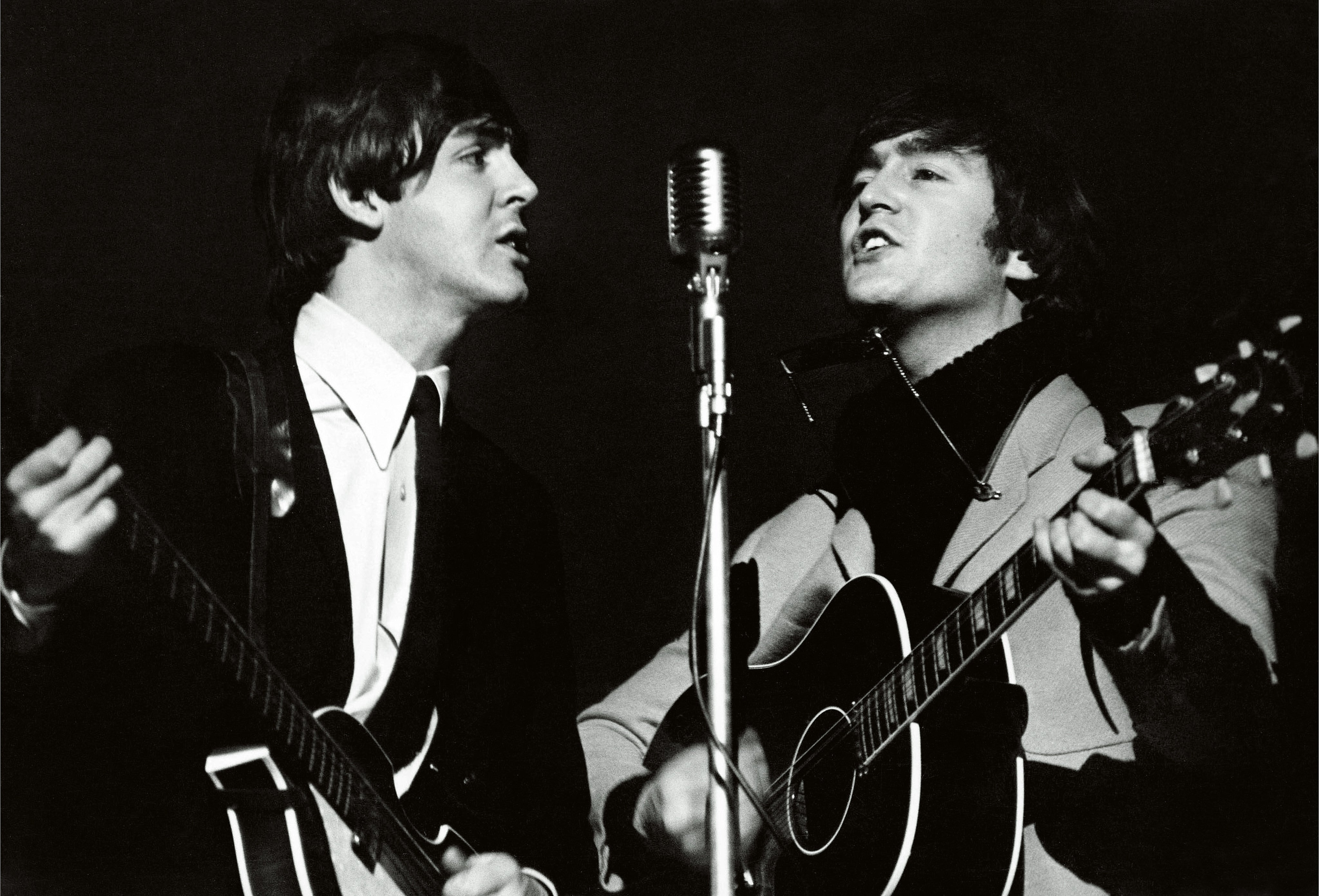 John Lennon Paul McCartney The Beatles 1964