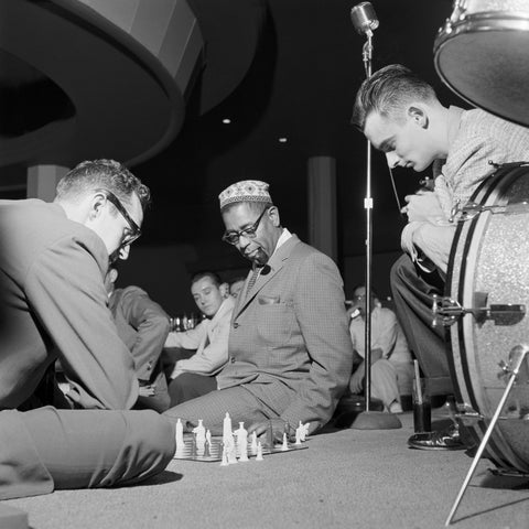 Chess with Gene Lees and Dizzy Gillespie