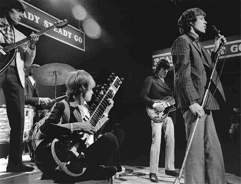 "The Rolling Stones, ""Ready, Steady, Go"", London, 1966"