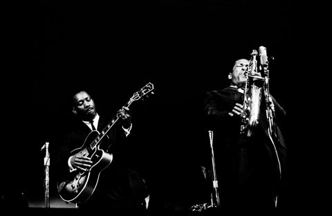 Wes Montgomery and John Coltrane