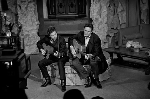 Johnny Cash and Bob Dylan-Performace.  1969