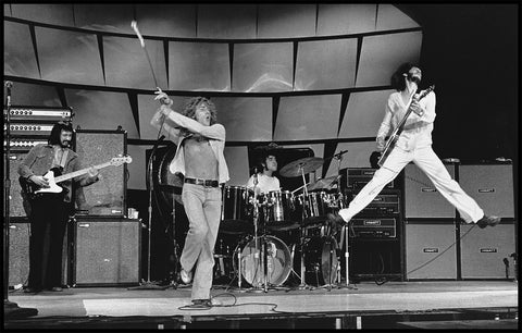 The Who in Rehearsal, England, 1973