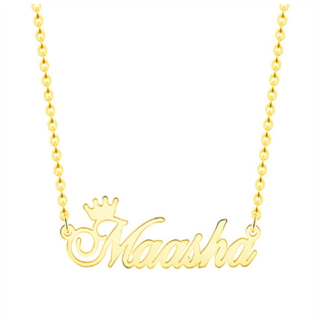 """ Name"" Necklace"