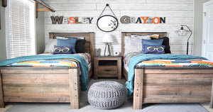 Solutions For A Shared Kids Bedroom