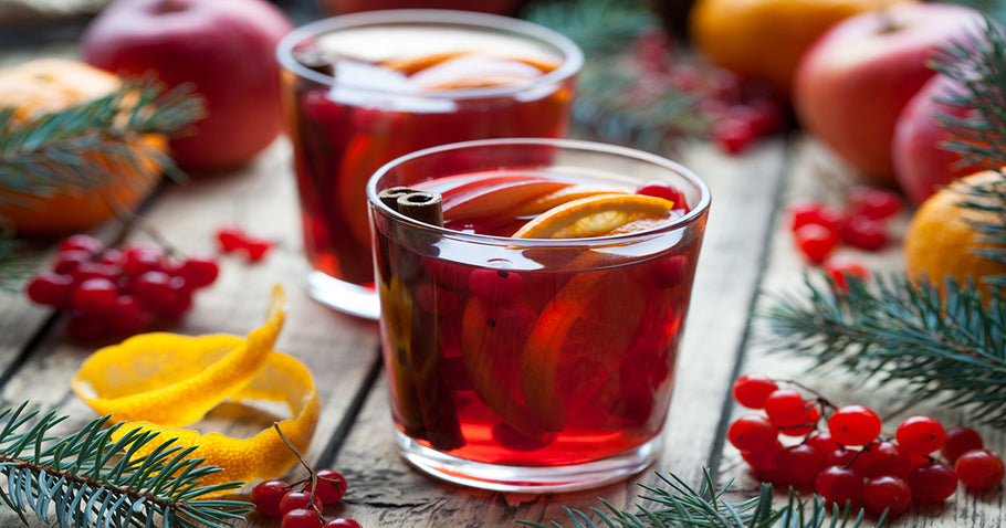 Sweet & Simple Cranberry Hot Apple Cider
