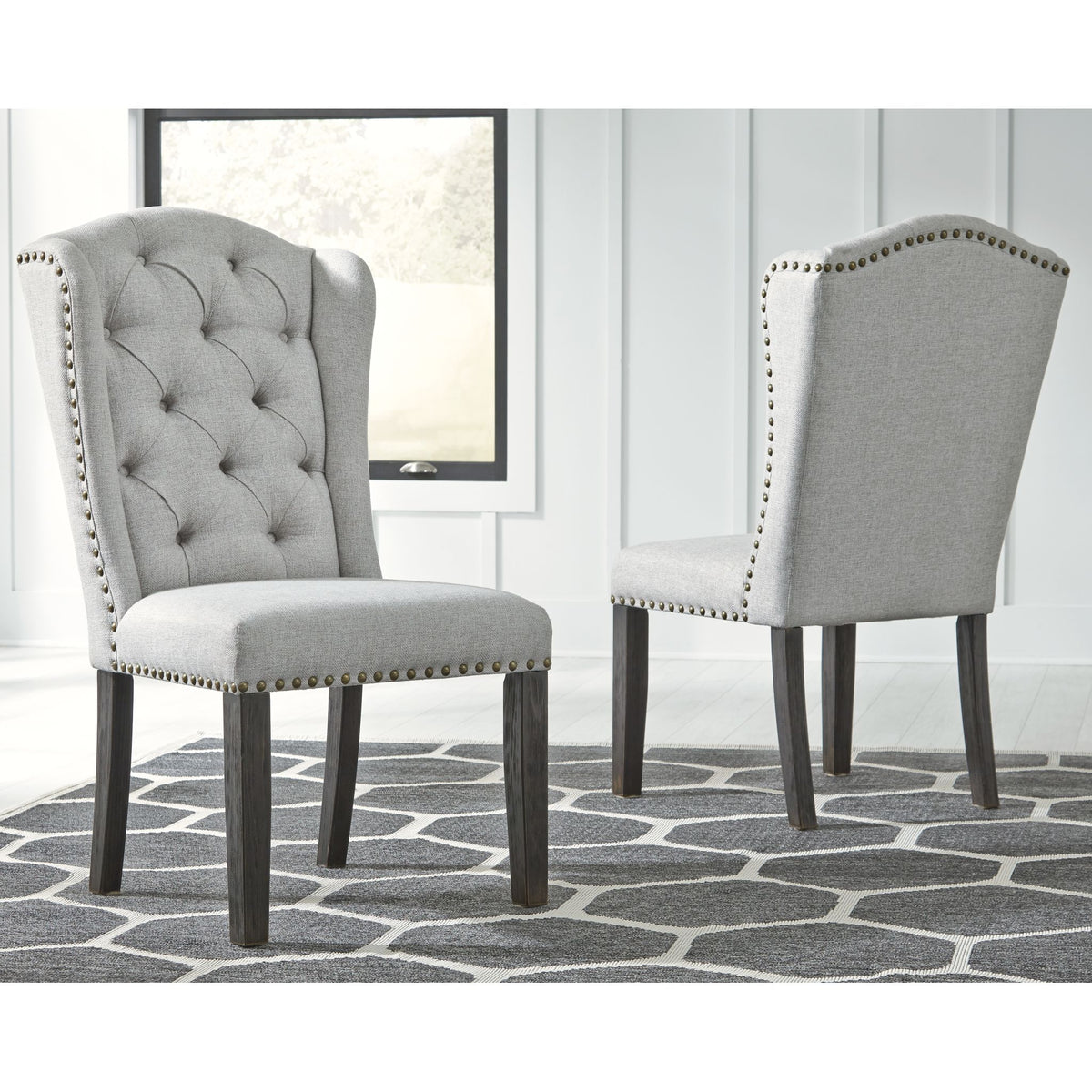 Jeanette Upholstered Side Chair
