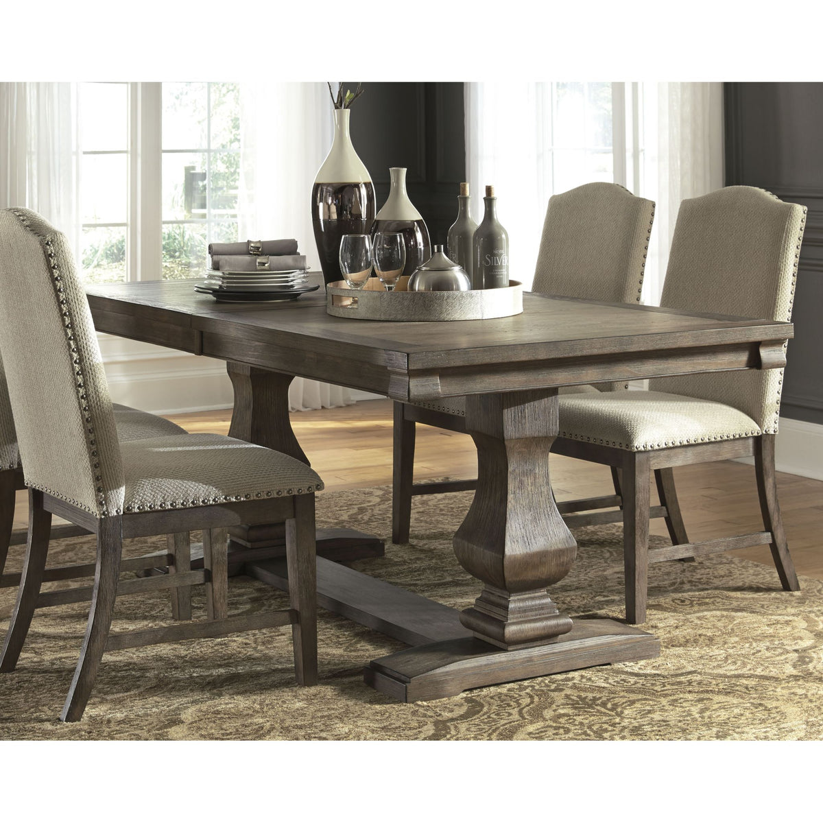 Johnelle Exclusive Extension Dining Table Ashley Homestore Canada
