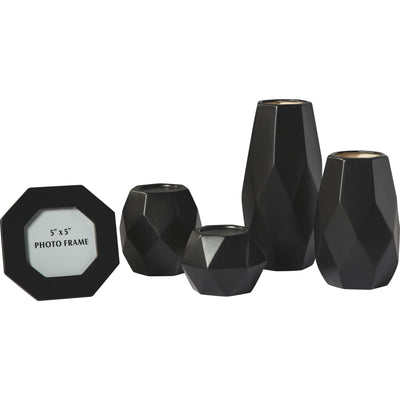 Donatella - Black Accessory Set (5CN)