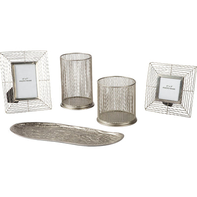 Dympna - Silver Accessory Set (5CN)