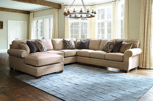 Amandine 5 Piece LAF Sectional