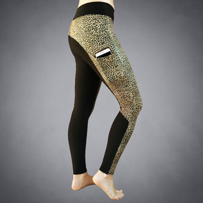 iPhone 8+ Leopard Recycled Compression Tights