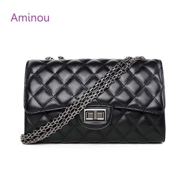 Classic Quilted Leather Bag
