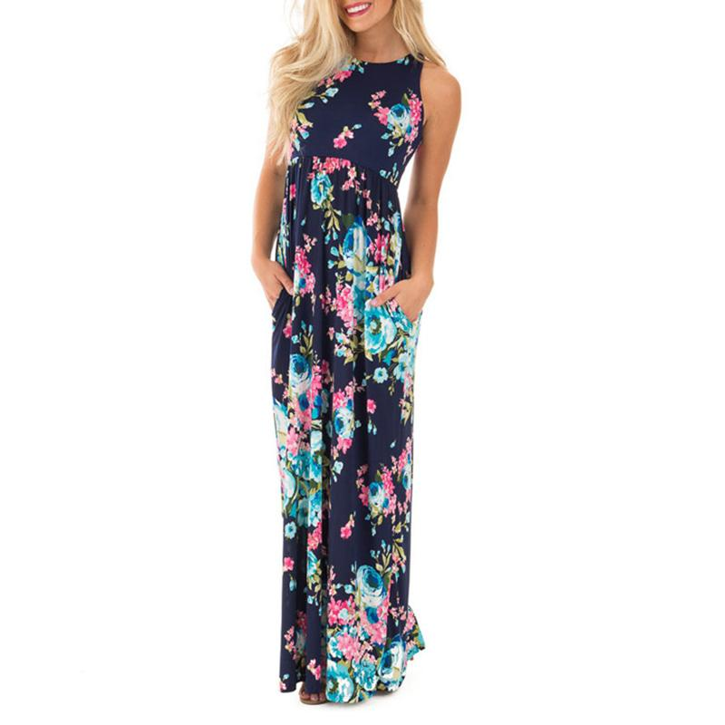 Katrina - Floral Summer Maxi Dress
