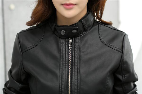 Cindy Leather Motorcycle Jacket