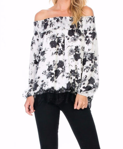 Day To Night Floral Top