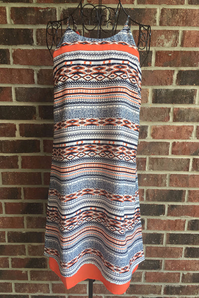THML Orange Layer Dress