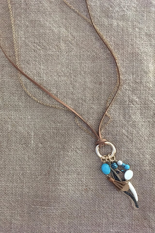 Turquoise Bohemian Necklace